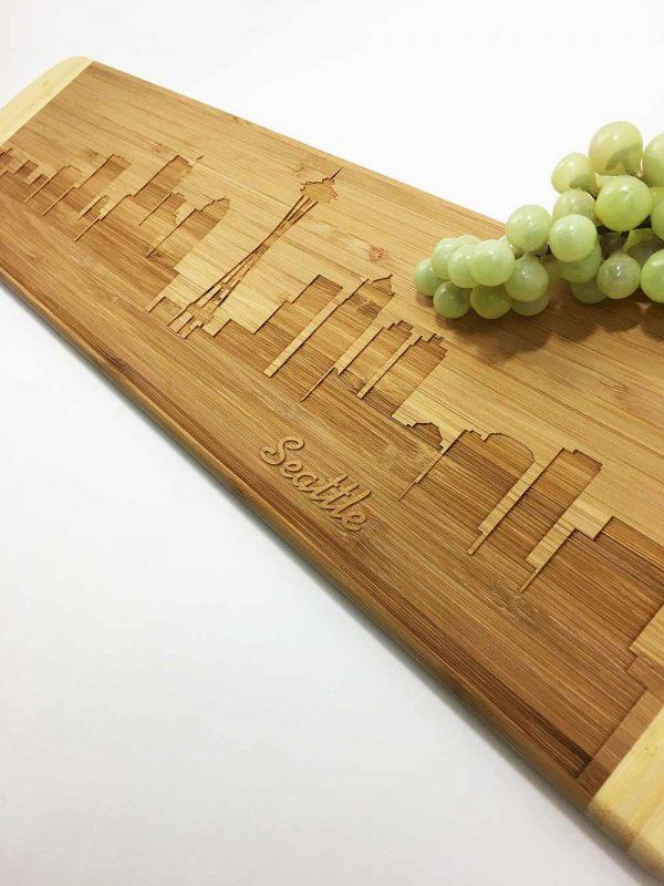 Seatle Skyline Cutting Board